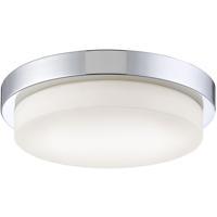 EuroFase 30150-010 Salba LED 13 inch Chrome Flush Mount Ceiling Light Large
