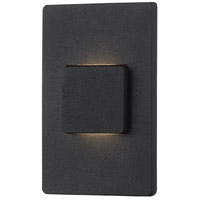 EuroFase 30287-020 Ontario LED 5 inch Black Outdoor Wall Mount