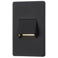 Signature LED 5 inch Black Outdoor Wall Sconce