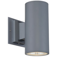 Signature LED 9 inch Metal Outdoor Wall Sconce