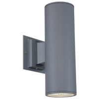 EuroFase 30349-018 Signature LED 13 inch Grey Outdoor Wall Sconce