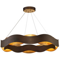 EuroFase 31384-018 Vaughan LED 34 inch Bronze Chandelier Ceiling Light Large