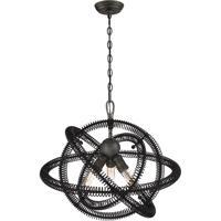 EuroFase 31387-019 Orbita 3 Light 23 inch Vintage Bronze Pendant Ceiling Light