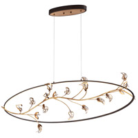 Peralta LED 13 inch Gold Chandelier Ceiling Light