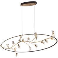 EuroFase 31393-010 Peralta LED 13 inch Bronze Chandelier Ceiling Light