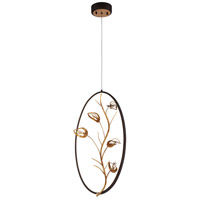 Peralta LED 10 inch Gold Pendant Ceiling Light