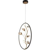 EuroFase 31406-017 Peralta LED 10 inch Bronze Pendant Ceiling Light
