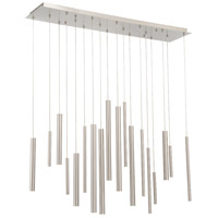 Santana LED 10 inch Nickel Chandelier Ceiling Light