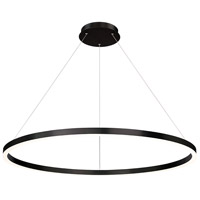EuroFase 31472-021 Spunto LED 47 inch Matte Black Chandelier Ceiling Light