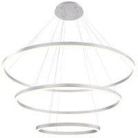 Spunto LED 61 inch Silver Chandelier Ceiling Light