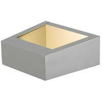 EuroFase 31574-013 Signature LED 7 inch Marine Grey Outdoor Wall Sconce