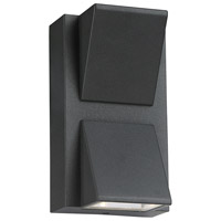 EuroFase 31582-025 Signature LED 6 inch Graphite Grey Outdoor Wall Sconce