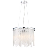 Candice 6 Light 16 inch Polished Chrome Chandelier Ceiling Light