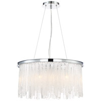 Candice 10 Light 24 inch Polished Chrome Chandelier Ceiling Light