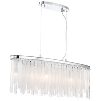 EuroFase 31607-018 Candice 9 Light 10 inch Chrome Chandelier Ceiling Light