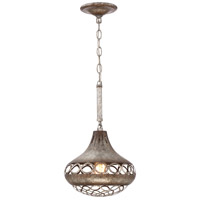 Mosto 1 Light 10 inch Antique Silver Pendant Ceiling Light
