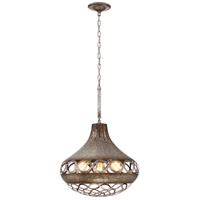 Mosto 4 Light 18 inch Chrome Pendant Ceiling Light