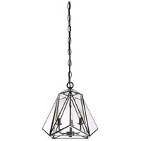 Glacier 3 Light 17 inch Brass Pendant Ceiling Light
