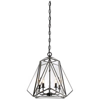 EuroFase 31646-017 Glacier 5 Light 21 inch Bronze Pendant Ceiling Light