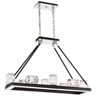 Barile 10 Light 27 inch Polished Chrome Chandelier Ceiling Light