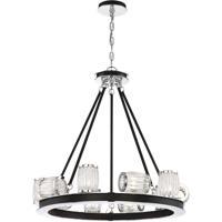 EuroFase 31652-018 Barile 8 Light 12 inch Polished Chrome Chandelier Ceiling Light