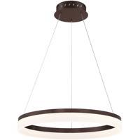 EuroFase 31777-025 Minuta LED 23 inch Bronze Pendant Ceiling Light