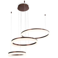 Minuta LED 48 inch Bronze Chandelier Ceiling Light