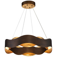 EuroFase 31783-019 Vaughan LED 24 inch Bronze Chandelier Ceiling Light Medium