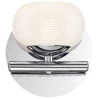 EuroFase 31793-018 Marche LED 6 inch Chrome Wall Sconce Wall Light