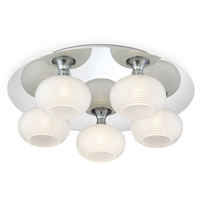 Marche LED 16 inch Chrome Flush Mount Ceiling Light