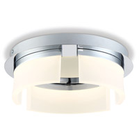 EuroFase 31798-013 Bria LED 11 inch Chrome Flush Mount Ceiling Light