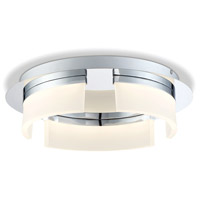 EuroFase 31799-010 Bria LED 15 inch Chrome Flush Mount Ceiling Light Large