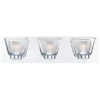 EuroFase 31801-010 Trent LED 19 inch Chrome Vanity Light Wall Light