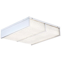 Wynn LED 17 inch Crystal Flush Mount Ceiling Light
