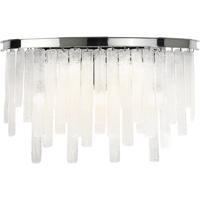 EuroFase 31826-013 Candice 5 Light 22 inch Chrome Vanity Light Wall Light