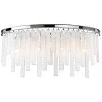 Candice 7 Light 28 inch Polished Chrome Bath Bar Wall Light