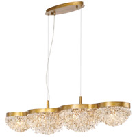 Mondo 10 Light 11 inch Antique Gold Chandelier Ceiling Light