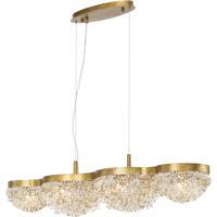 EuroFase 31832-014 Mondo 10 Light 11 inch Gold Chandelier Ceiling Light