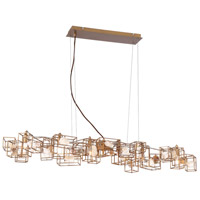 Patton 6 Light 10 inch Gold Chandelier Ceiling Light