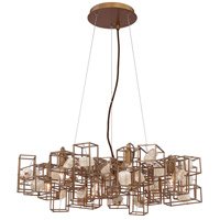 Patton 7 Light 28 inch Gold Chandelier Ceiling Light