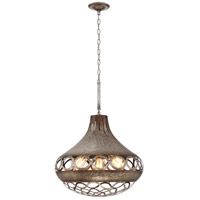 EuroFase 31848-015 Mosto 5 Light 24 inch Antique Silver Pendant Ceiling Light