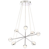 Lazio LED 24 inch Chrome Chandelier Ceiling Light