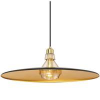 EuroFase 31867-023 Legend 1 Light 19 inch Black Pendant Ceiling Light