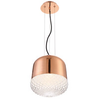 Corson 1 Light 10 inch Gold Pendant Ceiling Light