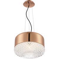 EuroFase 31869-034 Corson 1 Light 14 inch Rose Gold Pendant Ceiling Light
