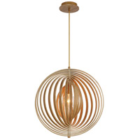 Abruzzo 1 Light 19 inch Wood Pendant Ceiling Light