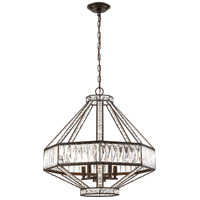 Bellezza 5 Light 24 inch Bronze Chandelier Ceiling Light