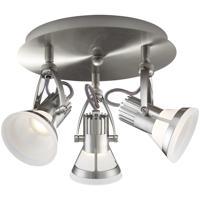 EuroFase 32753-011 Vortex 3 Light 120V Satin Nickel Track Ceiling Light
