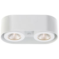 Nymark LED 5 inch White Flush Mount Ceiling Light