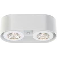 EuroFase 33617-015 Nymark LED 5 inch White Flush Mount Ceiling Light